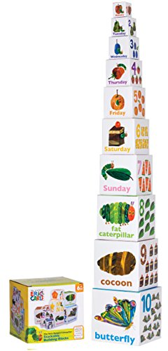 World of Eric Carle, The Very Hungry Caterpillar Nesting and Stacking Blocks