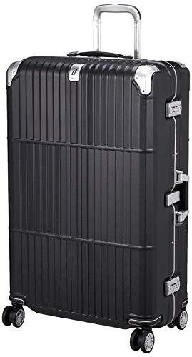 [エー・エル・アイ] スーツケース departure ハードキャリー 保証付 94L 6.6kg レザーマットブラック