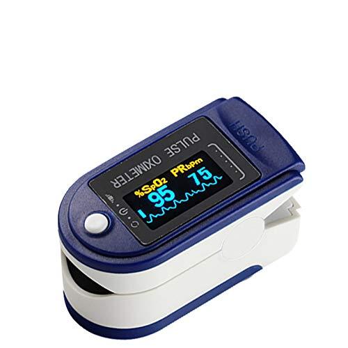 Digitales Mehrzweck-Messgerät Finger mit OLED-Display - Tragbarer Convenience-Finger-Sättigungssensor - für mehrere Personen (Style H)