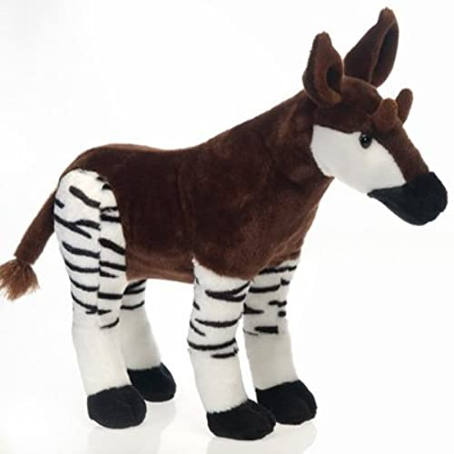 16 Okapi Plush Stuffed Animal Toy by Fiesta Toys by Fiesta Toys
