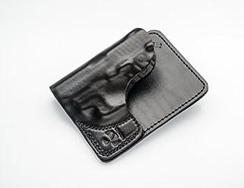Talon Ruger LCP LCP 2 Kel-Tec P3AT Wallet Holster Right Hand Black Crimson Trace