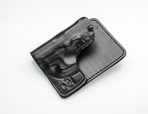 Talon Ruger LCP, LCP2, Kel-Tec P3AT Wallet Holster Right Hand Brown No Laser