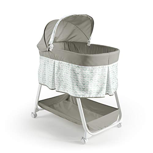 Ity by Ingenuity Snuggity Snug Soothing Vibrations Bassinet - Nimbu