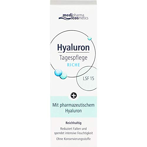 Hyaluron Tagespflege Riche Creme LSF 15, 50 ml