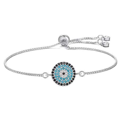 Zgrjiueryi Armband, voor dames, retro-armband, turquoise, modieus accessoire, zirkonia, met microfoon, voor persoonlijkheid van kleding voor dames, vintage sieraden, goudkleurig
