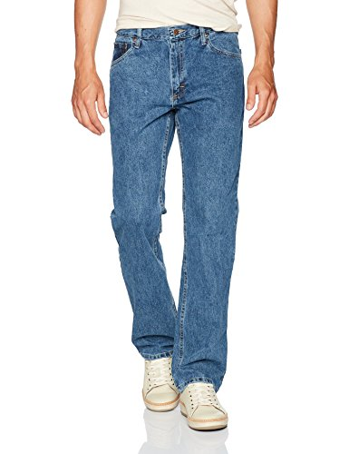 Wrangler Authentics pantalones vaqueros clásicos de ajuste recto para hombre