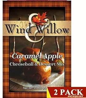 Wind & Willow Gourmet Sweet Cheeseball and Dessert Mix 2-Packs (Seasonal: Harvest Caramel Apple Dessert Mix)