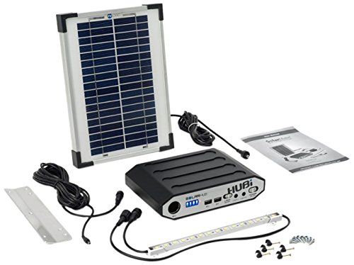 SolarMate SMH001 Solar Hub 16 Lighting and Power Kit - Blue