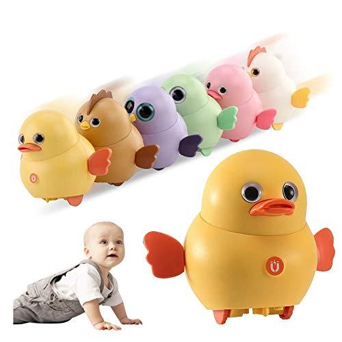Surfiiiy Ostereier DIY 6 Stücke Tier Elektrisches Huhn-Spielzeug,Ostern,süßes Küken-Spielzeug ,schwingendes magnetisches laufendes Huhn Tier Spielzeug perfektes Geburtstags Geschenke für Kinder