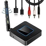 Wireless WiFi Display Dongle, 2.4GHz Adaptador HDMI inalámbrico 4K TV Stick Receptor Pantalla de Espejo Airplay Dongle de teléfono a Pantalla Grande, Soporte Miracast Airplay DLNA