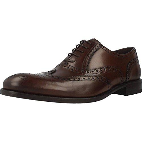 Sergio Serrano Zapatos Cordones 4408 Hombre Marrón