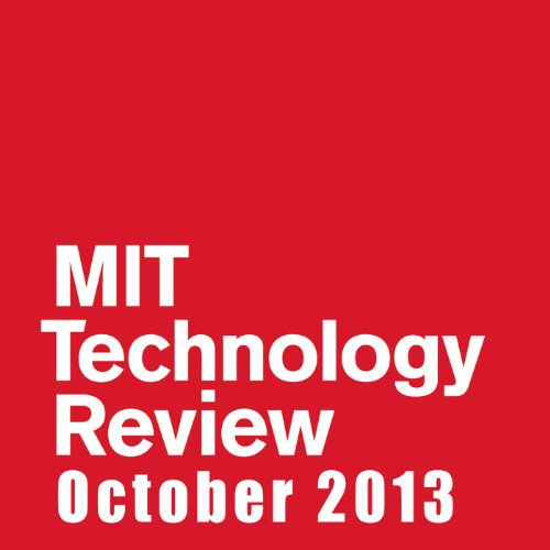 Audible Technology Review, October 2013 cover art