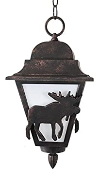 Melissa Lighting MS1771 Animals/Insects Outdoor Pendant from Moose Series Collection in Bronze/Darkfinish
