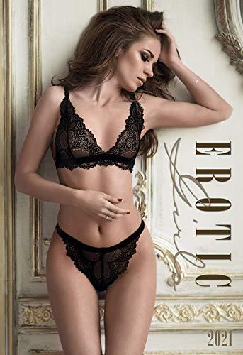 Erotic Girls 2021 - Bild-Kalender 34x49,5cm - Women - Erotische Frauen - Erotik-Kalender - Wand-Kalender - Alpha Edition