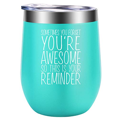 Thank You Gifts, Gifts for Women - Mothers Day Gifts for Mom, Wife, Daughters - Graduation Gifts for Her, Teacher Appreciation Gifts, Nurses Week, Best Friend, Sister, Aunt Gifts - GSPY Wine Tumbler