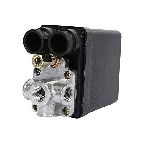 Heavy Duty 240V 16A Control automático de carga/descarga automática Compresor de aire Válvula de control del interruptor de presión 90 PSI -120 PSI