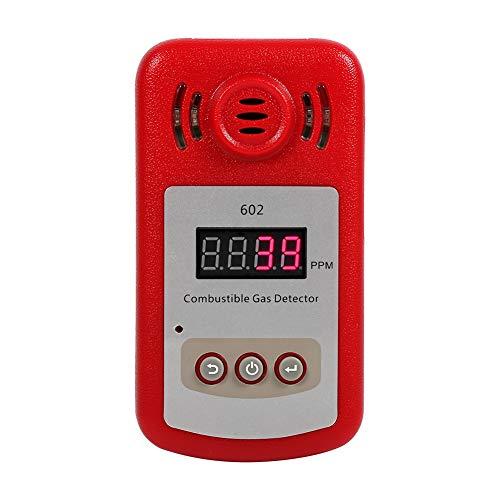 1Pc 300-10000PPM Gasdetektor, langlebiger hochwertiger brennbarer Erdgasdetektor, Methanleckdetektor, Küche für Industriegastester nach Hause