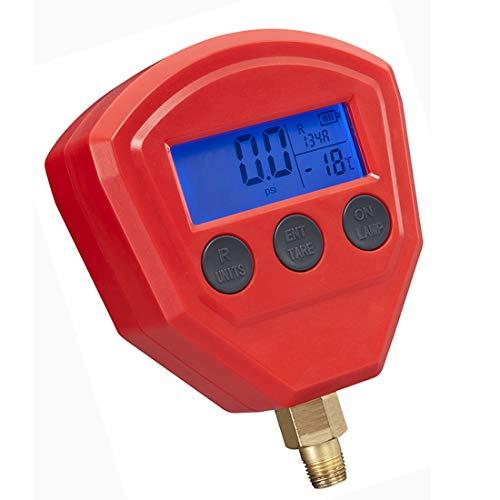 MuChangZi 1 pz R22 R410 R407C R404A R134A condizionatore d'aria refrigerazione attrezzature a batteria digitale manometro