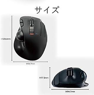 エレコム トラックボールマウス/親指/5ボタン/チルト機能/無線ブラック M-XT2DRBK