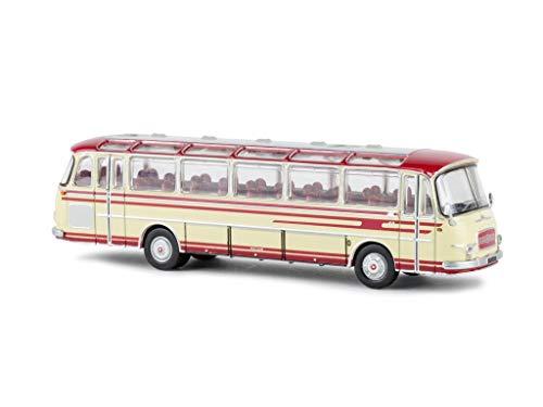 Unbekannt Setra S12, rot/beige, 0, Modellauto, Fertigmodell, Brekina Starline 1:87