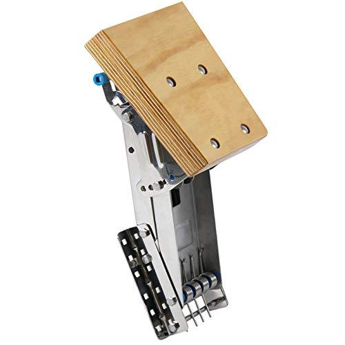 wellenshop Motorhalter Motorhalterung Außenborder bis 25 PS verstellbar 4 Positionen