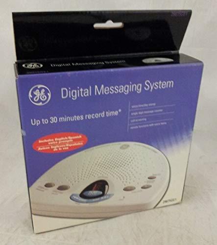 GE 29875GE1 Phone Answering Machine White 29875GE1