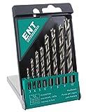 ENT European Norm Tools 8 Piezas Duradrill HSS-G Juego de Br