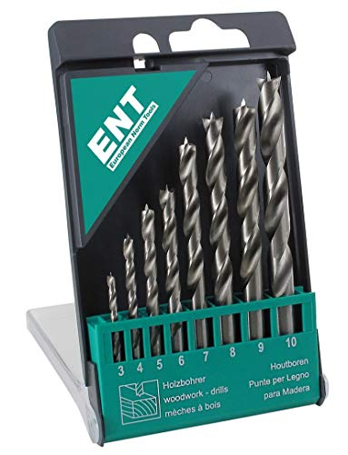 ENT European Norm Tools -  ENT Duradrill 8-tlg.