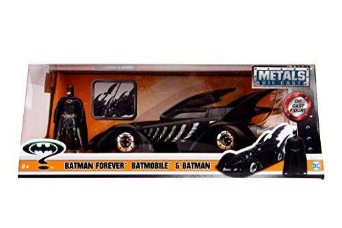 バットマン・フォーエヴァー メタルズ 1/24 スケール ダイキャストビークル バットモービル & バットマン / DC COMICS BATMAN FOREVER 2017 METALS DIE CAST BATMOBILE & BATMAN DCコミッ