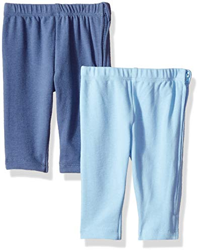 Hanes Ultimate Baby Zippin 2 Pack Knit Pants with Side Zipper