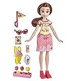 Muñeca de Disney Princess Comfy Squad Estilo azucarero Belle Fashion con Traje y Accesorios inspirados en la Fiebre del azúcar, Juguete para niñas de 5 años en adelante