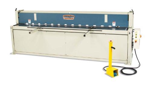 Buy Baileigh SH-12014 Hydraulic Metal Power Shear, 3-Phase 220V, 5hp Motor, 14-Gauge Mild Steel Capa...