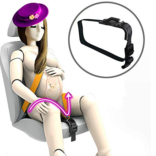 YFWOOD Maternity Car Belt Adjuster-Comfort & Safety for Pregnant Moms Belly,Protect Unborn Baby,...