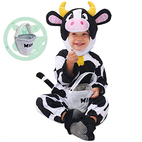 Spooktacular Creations Baby Cow Costume (12-18 Months) White