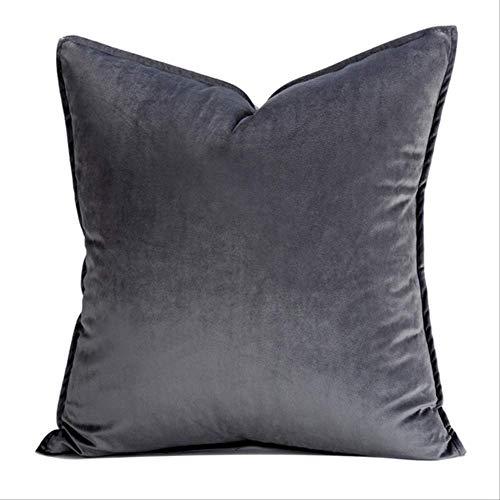 XSHIYQ Thicken Fashion Velvet Cushion Cover Pillow Cover Pillowcase Home Decorative Sofa Throw Pillows 500mm*500mm I a pillowcase