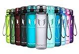 Super Sparrow Trinkflasche Kinder - Tritan Wasserflasche - 350ml - BPA-frei - Ideale Sportflasche - Schnelle Wasserdurchfluss, Flip Top, öffnet