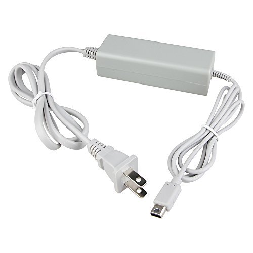 Hokyzam W03 Charger kits Replacement Power Supply Cord Wall AC Adapter Supply Cord Cable for Nintendo Wii U GamePad