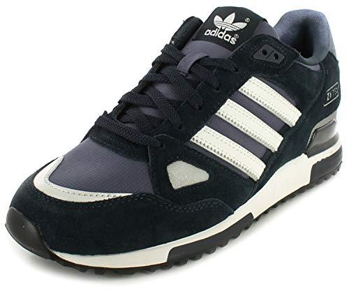 adidas Originals - Zx 750, Sneakers, unisex, (Navy blue-White), 44 2/3