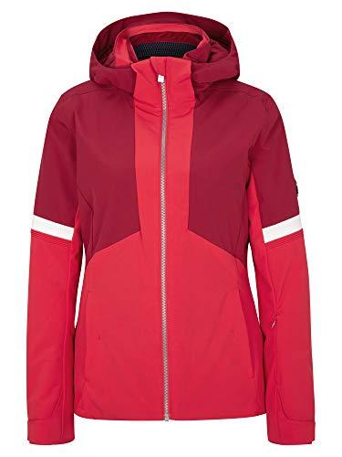 Ziener Damen Tahira Ski Snowboard-Jacke | Atmungsaktiv, Wasserdicht, red Cherry, 36