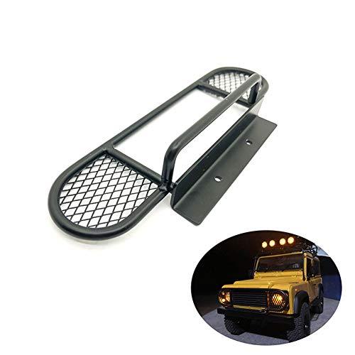 ETbotu accessoires voor auto RC bumper voorzijde van metaal kop kameel naam van de tour-bumper anti-botsingsstang met lampenkap voor klimauto RC 1/10 D90 D110