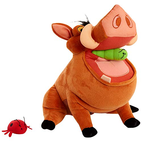 Disney's The Lion King Burping & Talking Pumbaa Plush - Amazon Exclusive