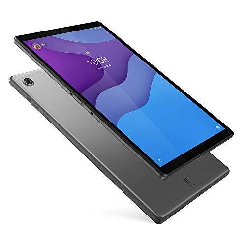 Lenovo Tab M10 HD Plus 25,5 cm (10,1 Pulgadas, 1280 x 800, HD, IPS, Touch) Tablet PC (MediaTek Helio P22T, 2 GB RAM, 32 GB eMCP, Wi-Fi, Android 10), Color Gris