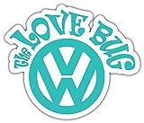 Volkswagen The Love Bug JDM - Sticker Graphic - Waterproof - Fade Resistant Die Cut