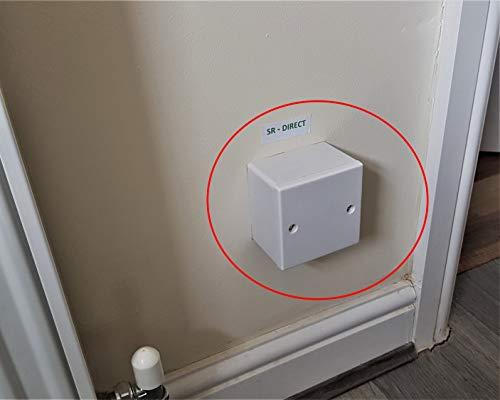 Caja de almacenamiento secreta magnética ocultada caja de seguridad en efectivo joyas llaves - S1