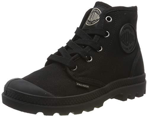 Palladium Us Pampa Hi F, Damen Sneaker, Schwarz, 38 EU