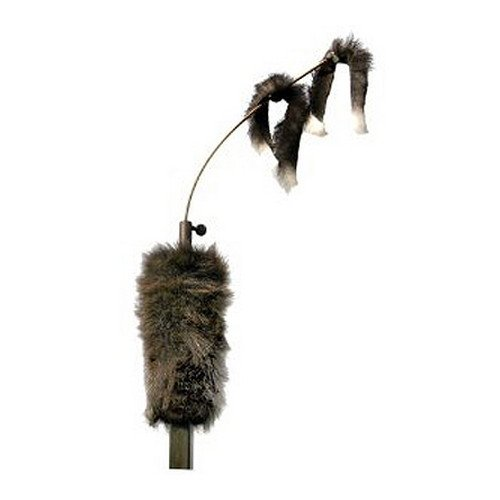 MOJO Outdoors Critter Predator Hunting Decoy - Great for Coyote and Bobcat Hunting and as a Varmint Decoy, Tail Decoy, Rabbit Decoy, etc, Original Critter