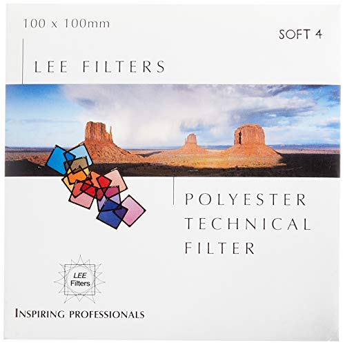 【国内正規品】 LEE 角型ポリエステルレンズフィルター ソフト No.4 100×100mm ソフト描写用 209573