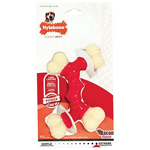 Nylabone DuraChew Double Bone Bacon, Wolf
