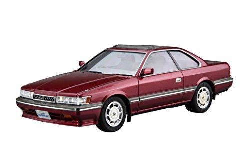 青島文化教材社 1/24 ザ・モデルカーシリーズ No.61 ニッサン UF31 レパード3.0アルティマ 1986 プラモデル