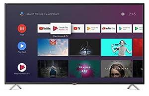 "immagine di Sharp Aquos 4T-C50BL3EF2AB - 50"" Smart TV 4K Ultra HD Android 9.0, Wi-Fi, DVB-T2/S2, 3840 x 2160 Pixels, Nero, suono Harman Kardon, 4xHDMI 3xUSB, 2019"